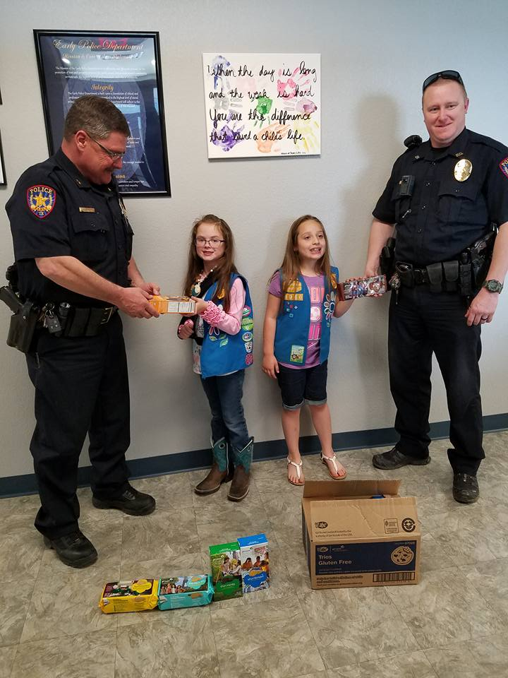 Girlscouts & officers
