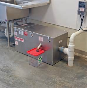Grease Trap indoor